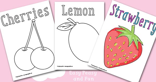 Fruit Coloring Pages
