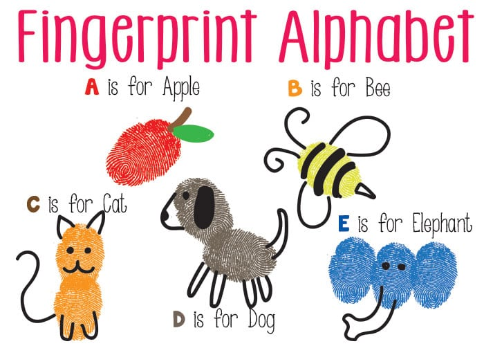 Abc Art Projects For Toddlers