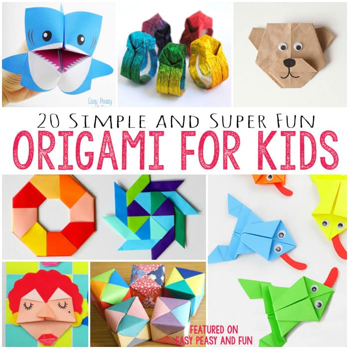 20+ Cute and Easy Origami for Kids - Easy Peasy and Fun - photo#2