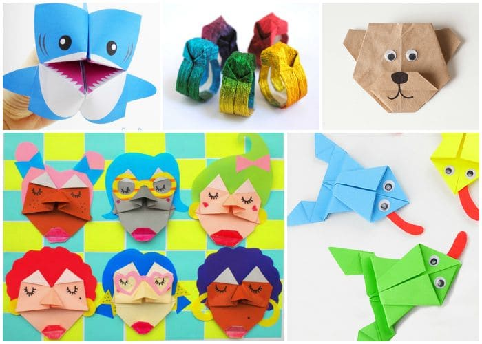 photo about Origami Paper Printable named 20+ Adorable and Uncomplicated Origami for Youngsters - Simple Peasy and Enjoyable
