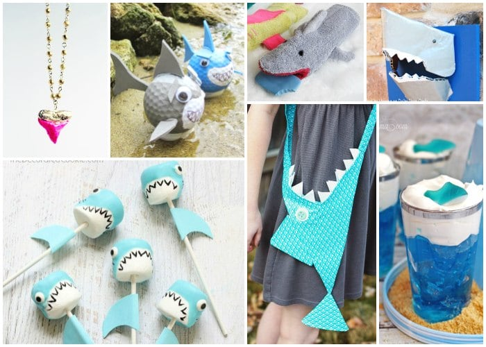 25 shark crafts and activities for kids shark week for Fun crafts for all ages