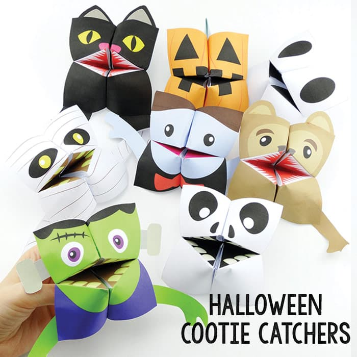 Halloween Origami for Kids - Easy Peasy and Fun | 700x700