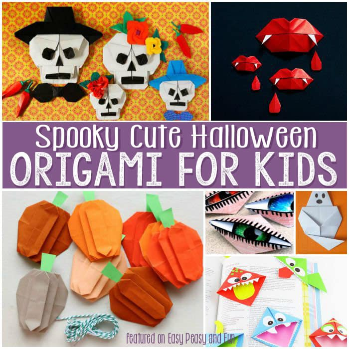 Origami snake images - Halloween Origami For Kids Easy Peasy And Fun