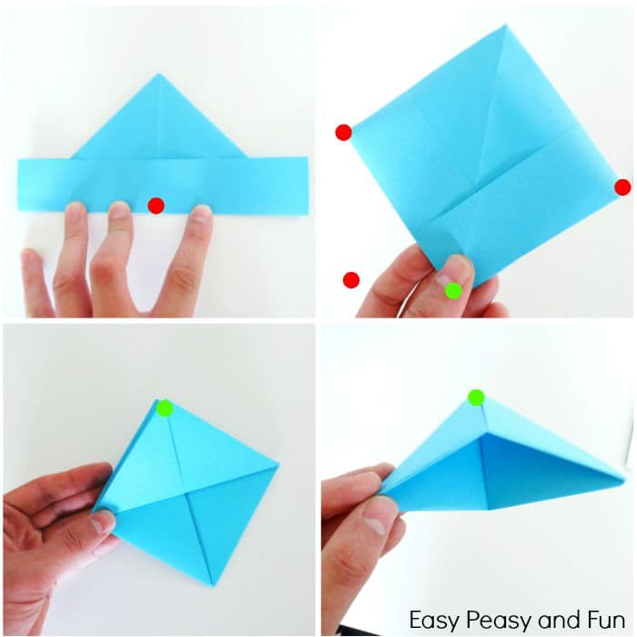 How To Make A Paper Boat Origami For Kids Easy Peasy And Fun