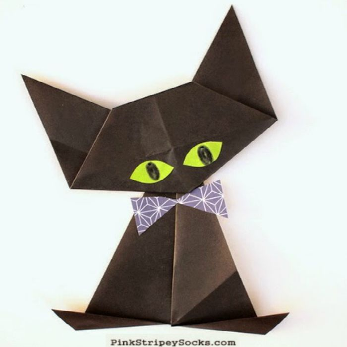 Halloween Origami for Kids - Easy Peasy and Fun on