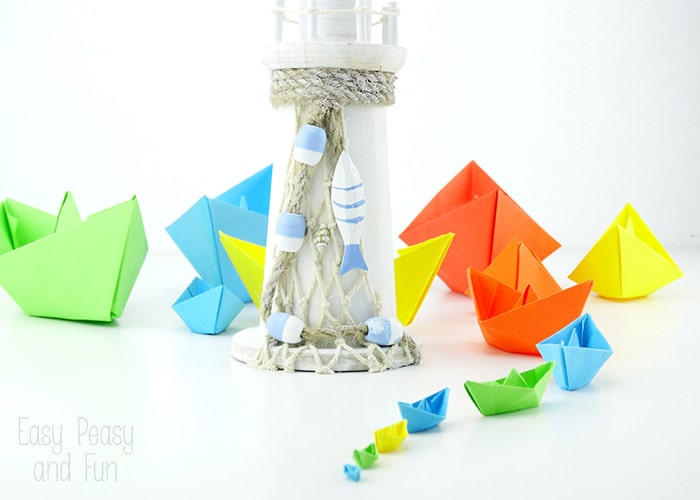 Origami For Kids - Paper Boats