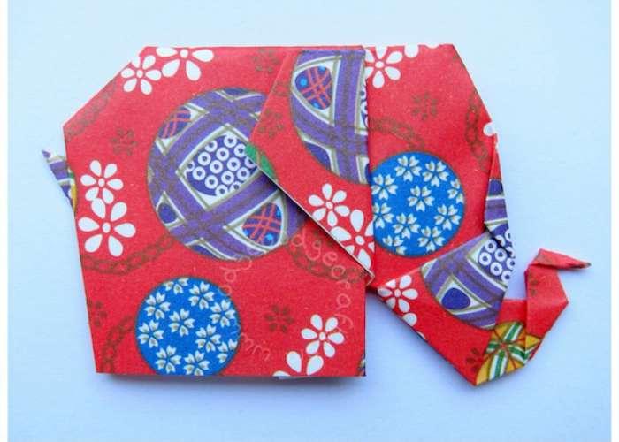 Paper Craft Elephant