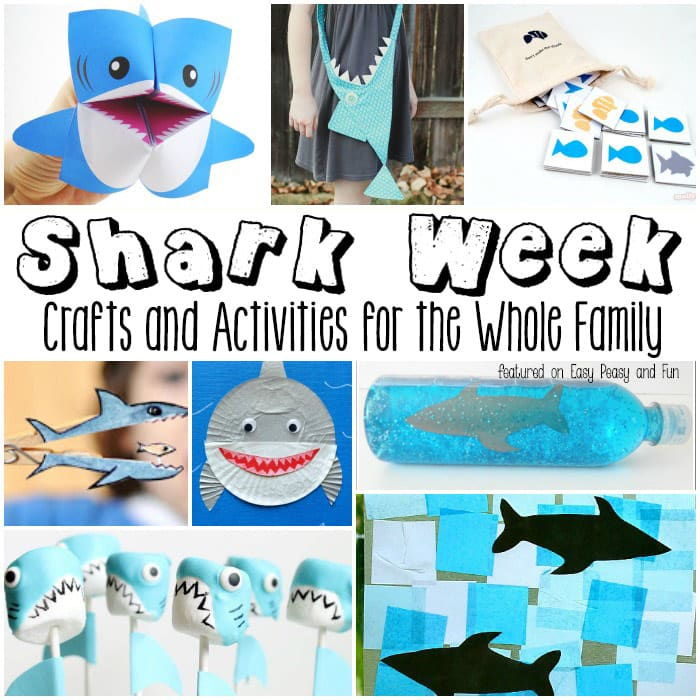 Shark Week Crafts and Activities