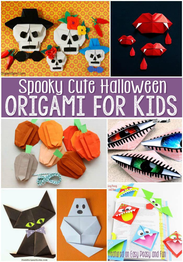 Spooky and Cute Halloween Origami for Kids