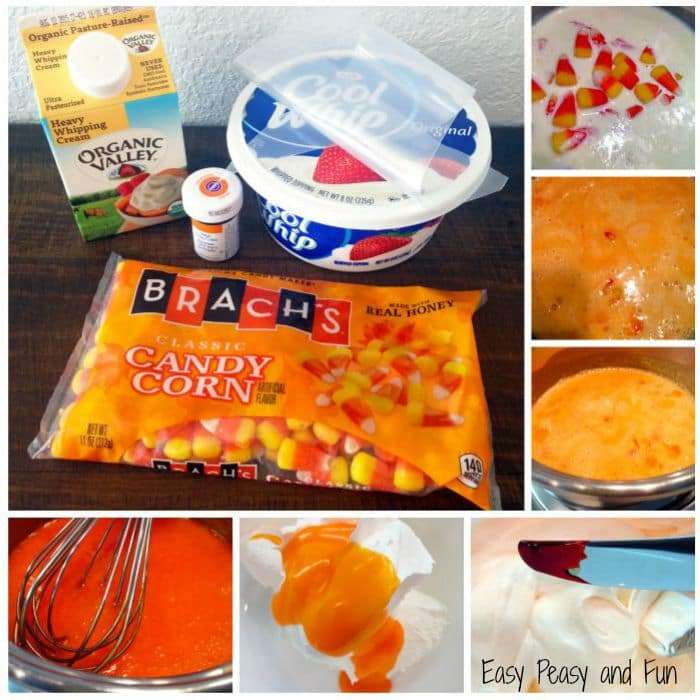 Candy Corn Cool Whip