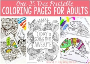 Coloring Pages for Grown Ups