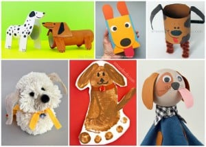 Crafts for Kids Dogs