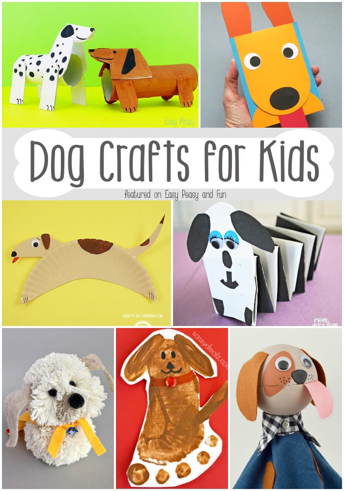 barktastic dog crafts for kids easy peasy and fun