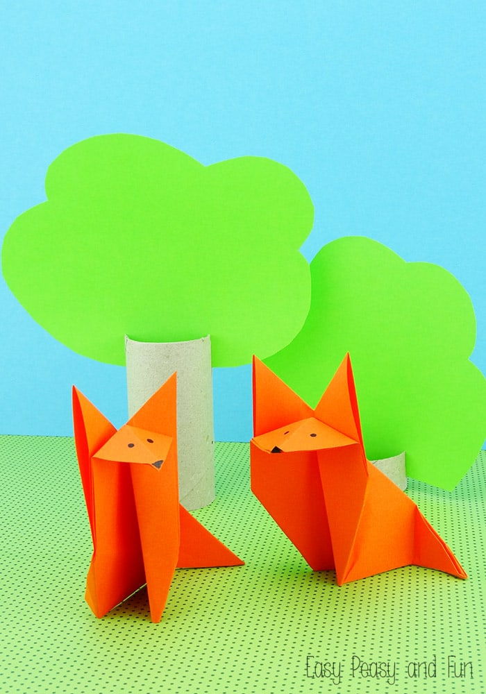 Fox Origami - Origami for Kids Tutorial