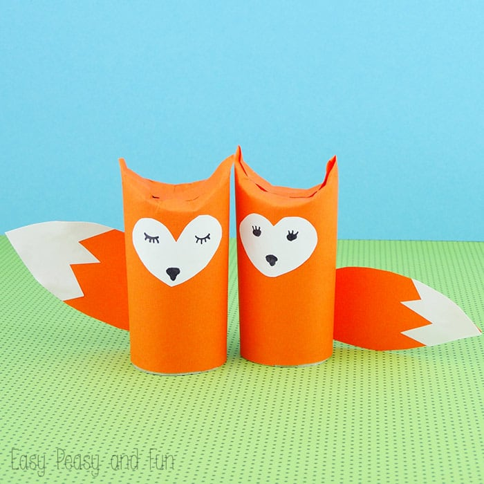 Toilet Paper Roll Fox Craft Easy Peasy And Fun