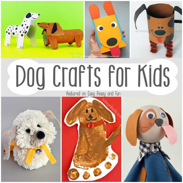 Barktastic dog crafts for kids easy peasy and fun for Art n craft for children