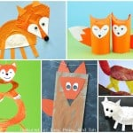 Cute Fox Crafts for Kids