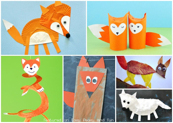 Cute Fox Crafts for Kids Easy