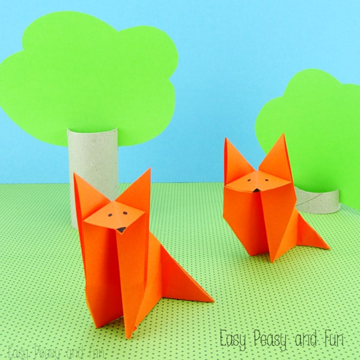 Forest Animals Origami for Kids - Easy Peasy and Fun - photo#3