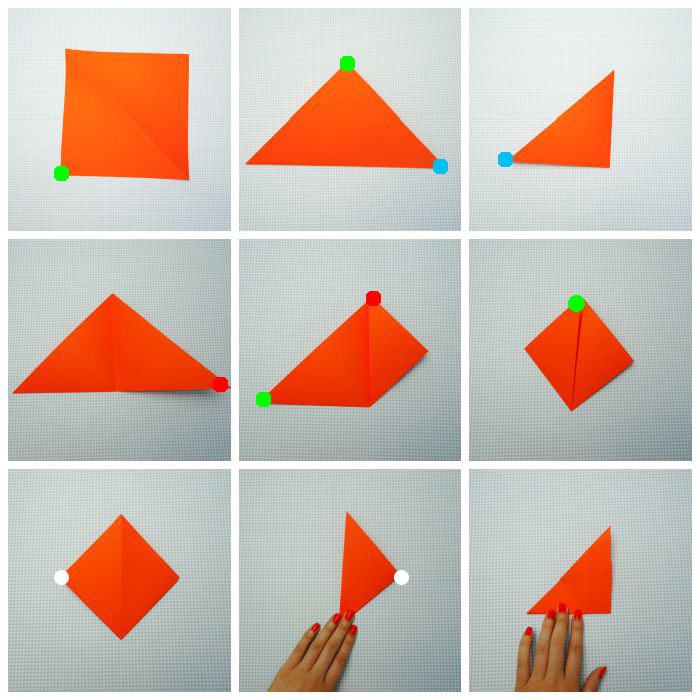 Origami Fox Folding Instructions