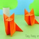 Fox Origami - Easy Origami for Kids