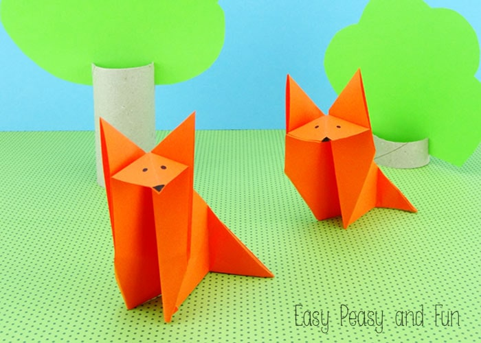 20 cute and easy origami for kids easy peasy and fun fox origami easy origami for kids mightylinksfo