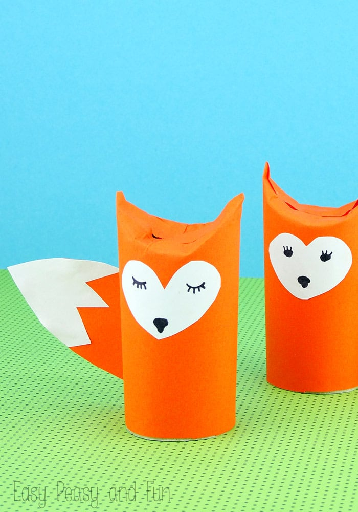 Easy Crafts With Paper Towel Rolls