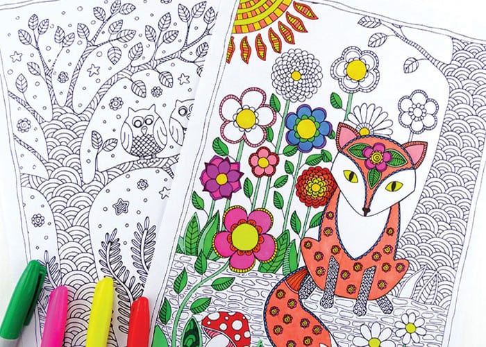 forest animals coloring pages easy peasy and fun. Black Bedroom Furniture Sets. Home Design Ideas