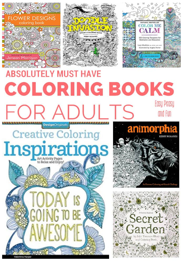 - 15 Intricate Adult Coloring Books We Adore - Coloring Books For Adults  Craze - Easy Peasy And Fun