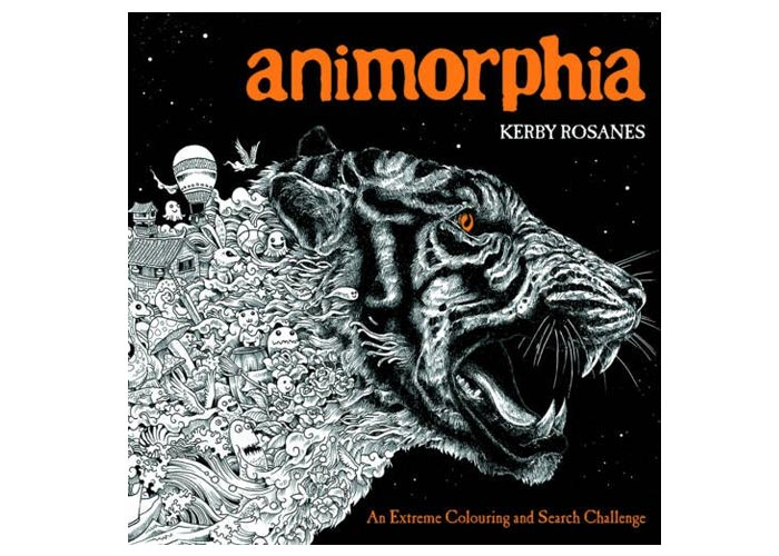 Animorphia An Extreme Colouring and Search Challenge