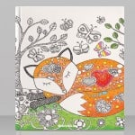 Colorful Woodland Coloring eBook
