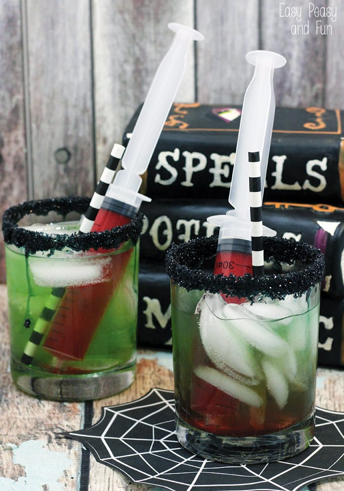 Creepy cool halloween drinks easy peasy and fun for Fun easy party drinks