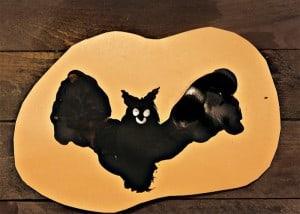 Halloween Handprint and Footprint Art