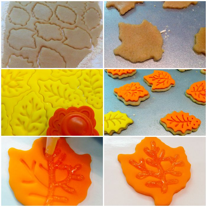 How to Make Leaf Cookies