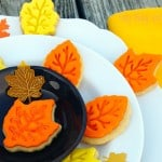 Super Easy Leaf Cookies