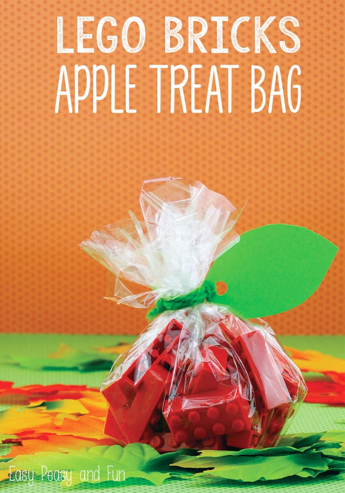 Lego Bricks Apple Treat Bag Lego Ideas