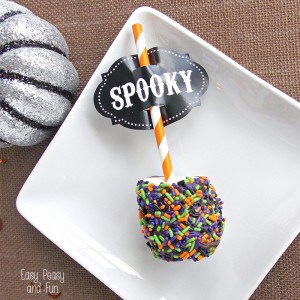 Marshmallow Pop - Halloween Treats