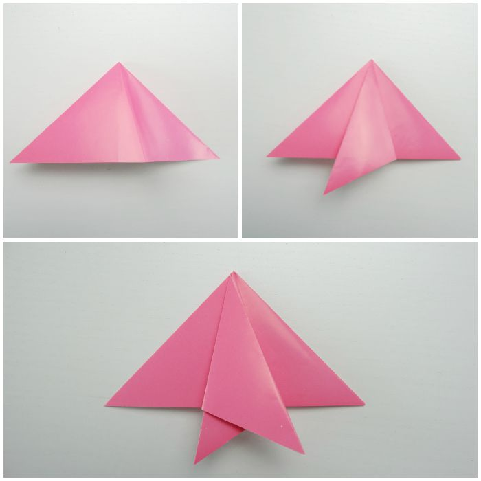 how to make origami fish easy