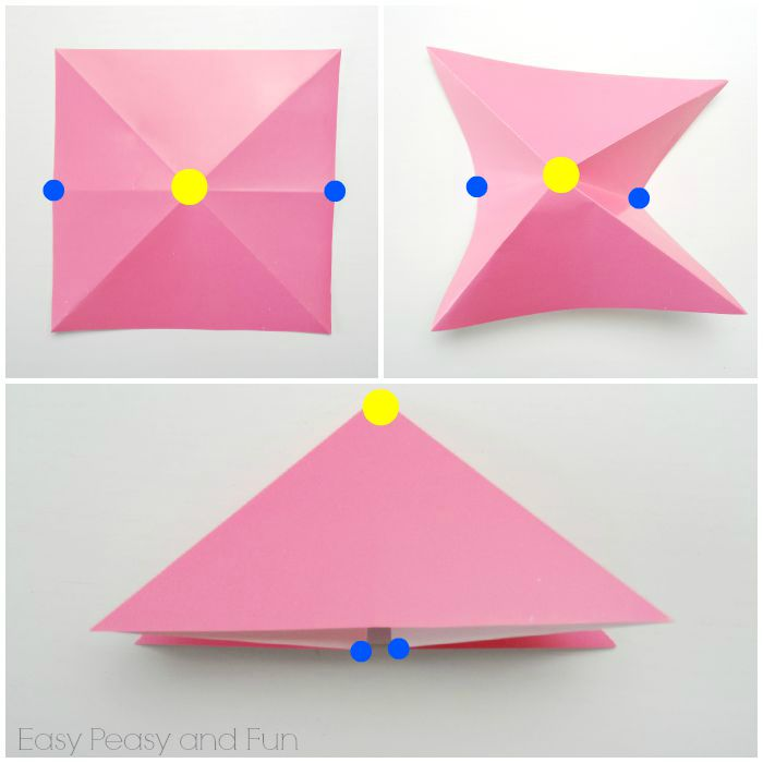 Head fish - Easy Origami instructions For Kids | 700x700