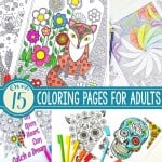 15+ Gorgeous Free Adult Coloring Pages