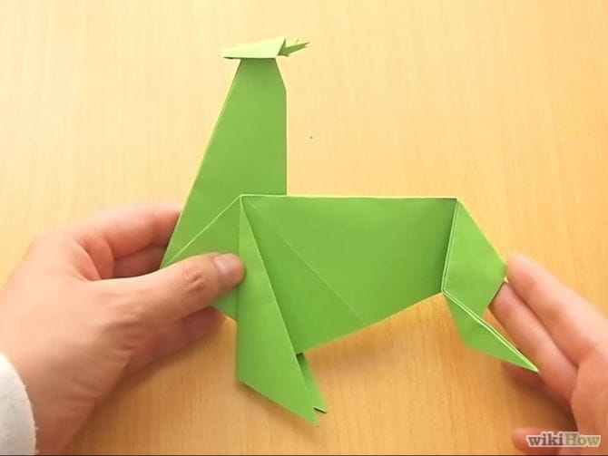 Make an Origami Reindeer