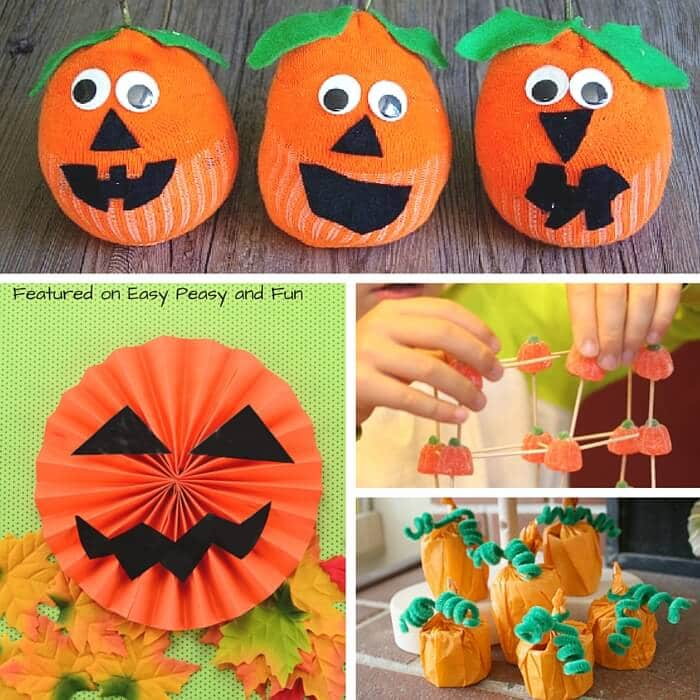 A Whole Bunch of Fun Pumpkin Crafts and Activities for Kids