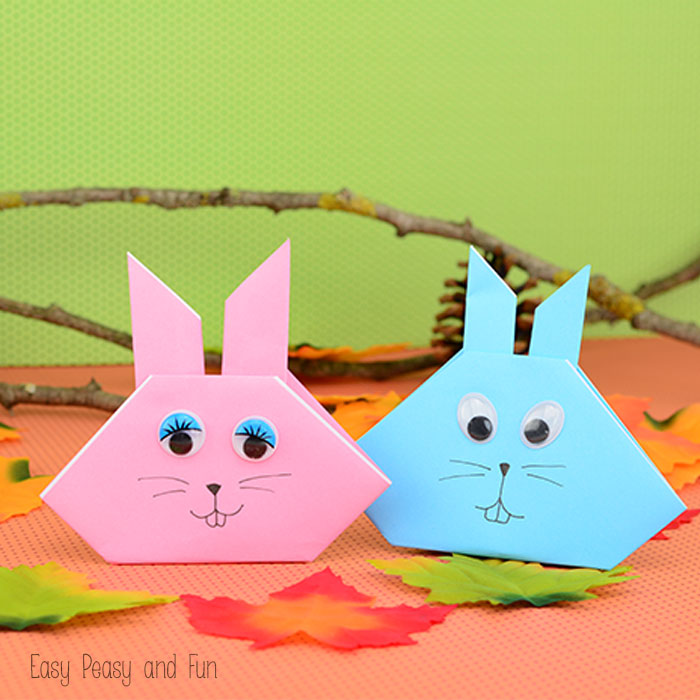 Easy Hedgehog Origami For Kids This Is One Seriously Cute Bunny