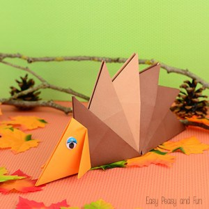 Easy Hedgehog Origami For Kids