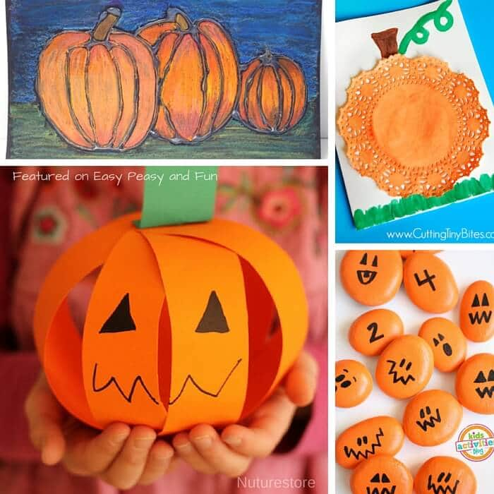 Ordinary Pumpkin Craft Ideas For Kids Part - 4: Fun Pumpkin Activities For Kids