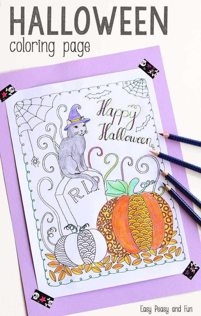jumbo halloween coloring pages - photo#34