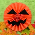 Halloween Pumpkin Craft for Kids