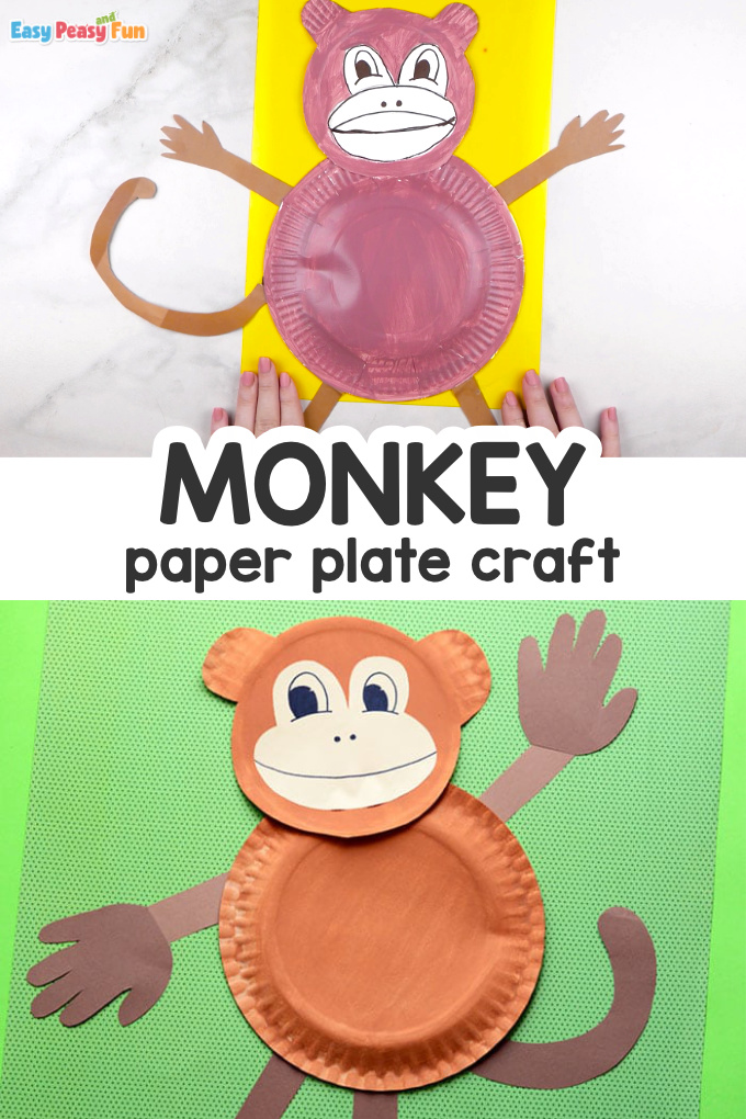 Mask for Kids | How to make Monkey Mask for Kids | Animal Mask for ... | 1020x680