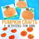 Pumpkin Activities and Crafts for Kids