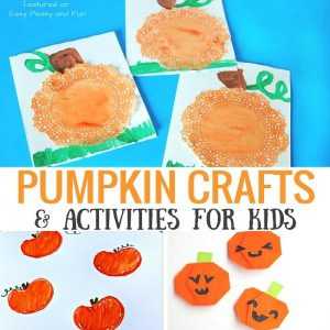 Pumpkin Crafts and Activities for Kids